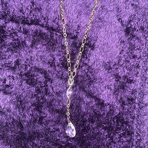 ✨Avon gold chain drop necklace